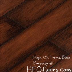 Mega Clic French Bleed - Mega Clic French Bleed, Burgundy 12.3mm laminate flooring. Available at HFOfloors.com.