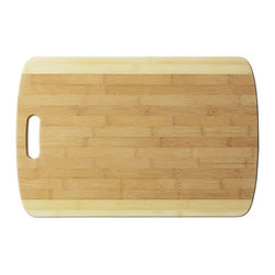 Bamboo Studio - Bamboo Studio XXL Two Tone Cutting Board - Made from 100% natural aged bamboo wood.
