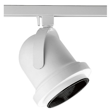 Track Lighting - Alpha Trak Carillon track heads comes complete with black baffle. Full yoke with single lock-up knob. Additional accessories available.