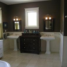 Traditional Bathroom by Details Design Studio