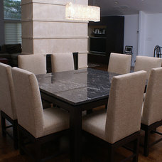 Contemporary Dining Chairs by Spiritcraft Fine Furniture and Cabinet Makers