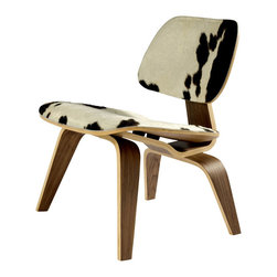 #N/A - The Charles Chair in Pony Skin - The Charles Chair in Pony Skin. The Charles Lounge Chair is simply one of the greatest industrial designs in history. Comfortable and padded with pony hide.