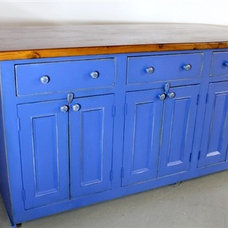 Farmhouse Kitchen Islands And Kitchen Carts by ECustomFinishes