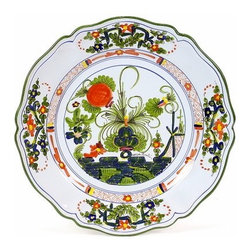 Artistica - Hand Made in Italy - FAENZA: Charger Buffet Platter - FAENZA Collection: Own a true Italian classic the Garofano pattern from Faenza.