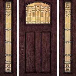 """Jeld-Wen A387 Door, Sidelights Mahogany Woodgrain Sequoia Finish - SKU#A387_1BrandJeld-WenDoor TypeExteriorManufacturer CollectionJeld-Wen Exterior Aurora Custom FiberglassDoor ModelDoor MaterialFiberglassWoodgrainmahoganyVeneerPrice$Door Size Options  $Core TypeDoor StyleCraftsmanDoor Lite Style1 Lite , Arch LiteDoor Panel Style2 PanelHome Style MatchingCraftsmanDoor ConstructionPrehanging OptionsPrehung ConfigurationDoor with Two SidelitesDoor Thickness (Inches)Glass Thickness (Inches)Glass TypeGlass CamingGlass FeaturesGlass StyleGlass TextureGlass ObscurityDoor FeaturesDoor ApprovalsDoor FinishesSequoiaDoor AccessoriesWeight (lbs)680Crating Size25"""" (w)x 108"""" (l)x 52"""" (h)Lead TimeWarranty"""
