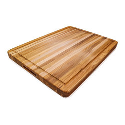 Proteak - Proteak Edge Grain With Juice Groove + Handle 24 x 18 x 1.5 - This is the ultimate cutting board for the home chef!