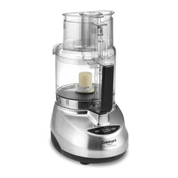 Cuisinart Elite Food Processor, 9-Cup - No matter what type of cook you are, no kitchen is complete in my mind without a Cuisinart Food Processor. A nine-cup one is the perfect size.