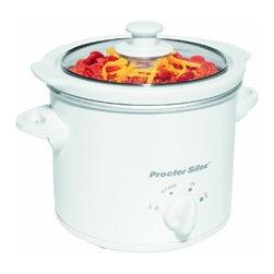 HAMILTON BEACH BRANDS, INC. - 33015y 1.5 Quart Slow Cooker - Proctor-silex 1-1/2 qt. Slow cooker