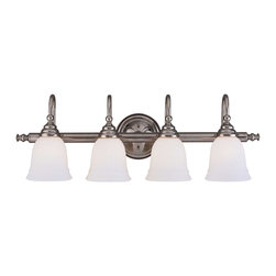 Savoy House - Savoy House Brunswick Bath Bathroom Lighting Fixture in Chrome - Shown in picture: For a variety of Bathroom Spaces in Chrome Finish; *GL780 Glass Sold Separately
