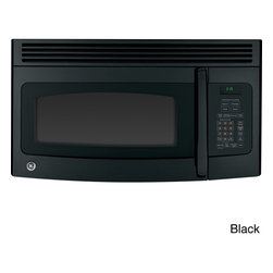 General Electric - GE 1.5 Cu. Ft. Over-the-Range Microwave Oven - Update your kitchen with subtlety with this stainless steel General Electric microwave oven. With your choice of black or white,this microwave goes over-the-range to save space in your home.