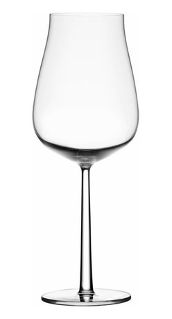 Iittala - Essence Plus 22 Oz., Set of 4 - Sometimes a good bottle calls for a special glass. Something oversize that absolutely demands a generous pour. You can't go wrong with this elegant glass that easily holds 22 ounces of your favorite vino.