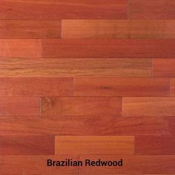 Brazilian Redwood (massaranduba) Hardwood Flooring - Brazilian Redwood Hardwood Flooring / Massaranduba