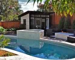 10x12 Studio Shed Pool room & backyard retreat - 10x12 Studio Shed + Lifestyle Interior