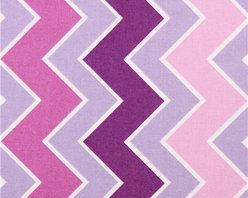 chevron zig zag fabric Shaded Chevron Grape Riley Blake - purple Chevron stirpe fabric from the USA with zig zag pattern
