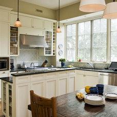 Traditional Kitchen by MaryEllen Kowalewski Architect