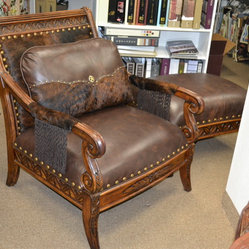 Leather Furniture Leather And Hair On Hide Make This
