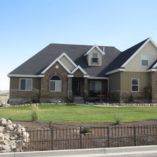 Traditional Exterior by E Builders Homes
