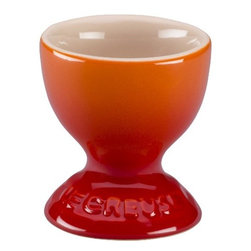 Le Creuset - Le Creuset Egg Cup - The soft-boiled egg just got a bit more delightful. This elegant cup is crafted of dense stoneware with an impermeable enamel exterior so it will look as good as an heirloom as it does in your breakfast nook this morning.