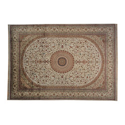 1800GetARug - Soft Colors Silken Qum 250 kpsi Hand Knotted Oriental Rug Sh17742 - Our fine Oriental hand knotted rug collection consists of 100% genuine, hand-knotted and hand-woven rugs from Persia, China, and other areas throughout Asia. Classic, traditional, and offered in a wide range of elaborate designs, every rug is guaranteed to serve as a beautiful and striking element in any interior setting.