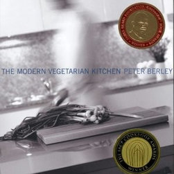 Modern Vegetarian Kitchen by Peter Berley - This one is an inspiring and refreshing look at how cooking food can nourish your life. It's full of seasonally based vegetarian recipes that work for both the herbivore and omnivore alike.