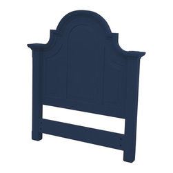 Trade Winds - New Trade Winds Twin Bed Blue Painted - Product Details