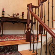 Traditional Staircase by Direct Build Home Improvement & More