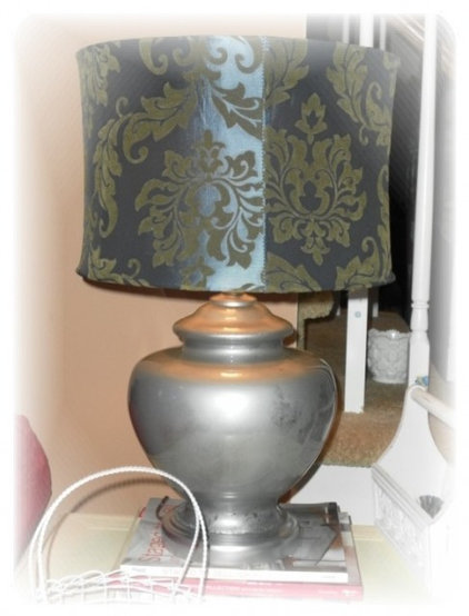 Contemporary Table Lamps by Lisa's Creative Designs