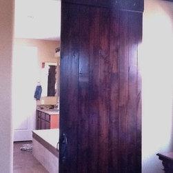 Sliding Barn Doors -
