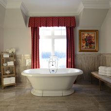 Traditional Bathroom by Galileo Construction Inc.