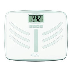 CONAIR - CONAIR WW66NPDQ Wide-Platform Weight Watchers(R) Body Analysis Scale - •350lb capacity in .2lb increments;