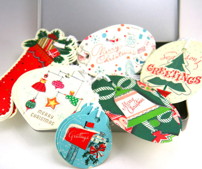 traditional holiday decorations by Luxe Paperie