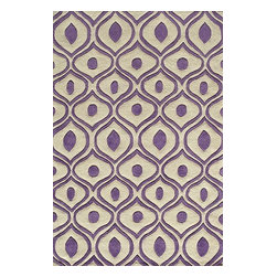 Momeni - Momeni Bliss Bs09 Purple Rug - Blissbs - Bliss is a collection of bold transitional and soft contemporary patterns in earthen tones, hand-tufted from the softest blend of polyester. It features hand-carving for added depth and texture.