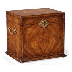Jonathan Charles - New Jonathan Charles Box Walnut Metal - Product Details
