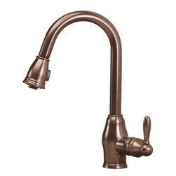 Pegasus - Newbury Single-Handle Pull-Down Sprayer Kitchen Faucets, Oil Rubbed Bronze - Newbury Single-Handle Pull-Down Sprayer Kitchen Faucet in Oil Rubbed Bronze