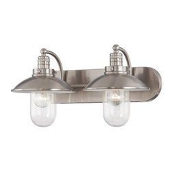 Minka Lavery - Minka Lavery 5132 2 Light Bathroom Vanity Light from the Downtown Edison Collect - Two Light Bathroom Vanity Light from the Downtown Edison CollectionFeatures: