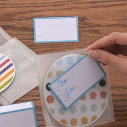 Mixit CD Envelope - While CDs may not be the most cutting edge way to listen to music, there's something about handing someone a personalized mix that feels legit. Wrap it up in this CD envelope for great presentation.