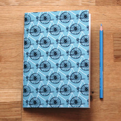 Perpetual Bicycle Notebook by Hello Jenuine