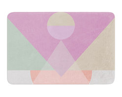 "KESS InHouse - Mareike Boehmer ""Pastel Play 3X"" Purple Pink Memory Foam Bath Mat (24"" x 36"") - These super absorbent bath mats will add comfort and style to your bathroom. These memory foam mats will feel like you are in a spa every time you step out of the shower. Available in two sizes, 17"" x 24"" and 24"" x 36"", with a .5"" thickness and non skid backing, these will fit every style of bathroom. Add comfort like never before in front of your vanity, sink, bathtub, shower or even laundry room. Machine wash cold, gentle cycle, tumble dry low or lay flat to dry. Printed on single side."