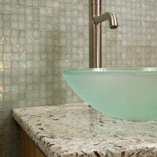 Vanity Tops And Side Splashes by Vetrazzo