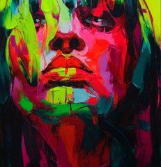 eclectic artwork by Francoise Nielly