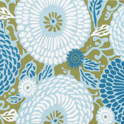 The Rug Market - Dandelion Blue area rug -