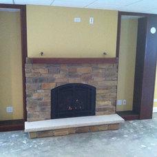 Modern Fireplaces by Northwest Metalcraft