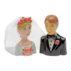 "ATD - 2.75 Inch ""Marry Me"" Bride and Groom Couple Salt and Pepper Shakers - This gorgeous 2.75 Inch ""Marry Me"" Bride and Groom Couple Salt and Pepper Shakers has the finest details and highest quality you will find anywhere! 2.75 Inch ""Marry Me"" Bride and Groom Couple Salt and Pepper Shakers is truly remarkable."