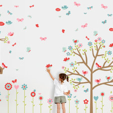 Modern Kids Wall Decor by Mike