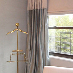 contemporary curtains by Maxine Shriber Design