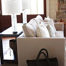 Beach Style Living Room by Yvonne McFadden LLC