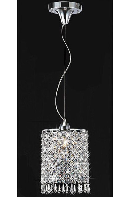 modern chandeliers by Overstock
