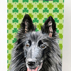 Caroline's Treasures - Belgian Sheepdog Shamrock Portrait Michelob Ultra Koozies for slim cans - Belgian Sheepdog St. Patrick's Day Shamrock Portrait Michelob Ultra Koozies for slim cans SC9318MUK Fits 12 oz. slim cans for Michelob Ultra, Starbucks Refreshers, Heineken Light, Bud Lite Lime 12 oz., Dry Soda, Coors, Resin, Vitaminwater Energy, and Perrier Cans. Great collapsible koozie. Great to keep track of your beverage and add a bit of flair to a gathering. These are in full color artwork and washable in the washing machine. Design will not come off.