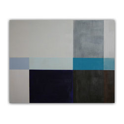Abstract painting, minimal, geometric by Victoria Kloch 'Untitled 1213' - Title: Untitled 1213
