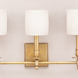 Hudson Valley Lighting - Hudson Valley Lighting 303-AGB Palmer 3 Light Wall Sconce, Aged Brass - This 3 light Wall Sconce from the Palmer collection by Hudson Valley Lighting will enhance your home with a perfect mix of form and function. The features include a Aged Brass finish applied by experts. This item qualifies for free shipping!